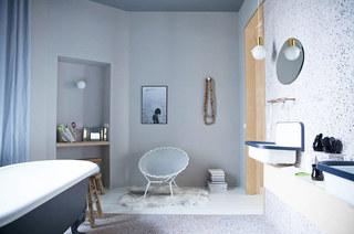 62平单身公寓卫浴间装潢设计