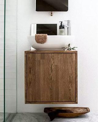简约风格浴室柜装修图片