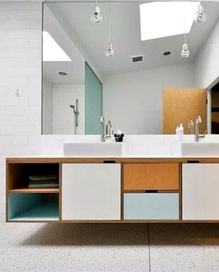 简约风格浴室柜装修效果图