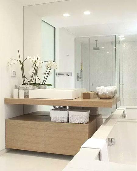 简约风格浴室柜效果图装修