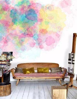 客厅布艺设计实景图