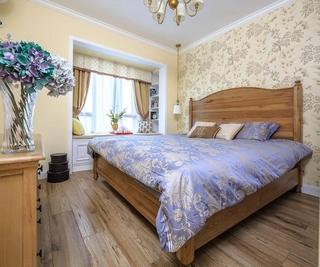 温馨美式田园风 卧室装饰效果图