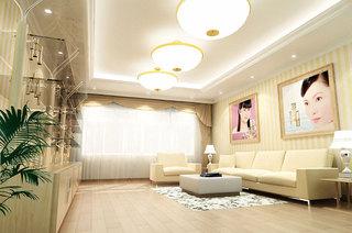 美容院大厅装潢设计