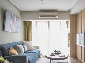60平日式风格公寓效果图