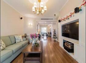 美式风格四房两厅装修 超级温馨的家居