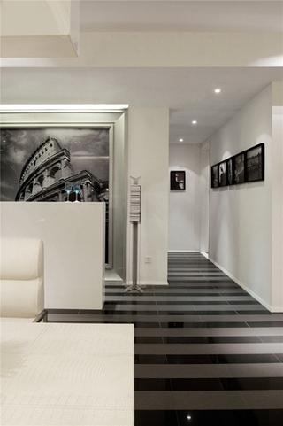 简约风格三居室装修过道装修图