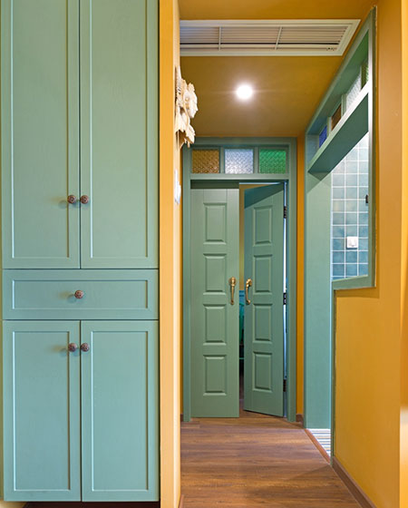 46平一居室门厅装修图
