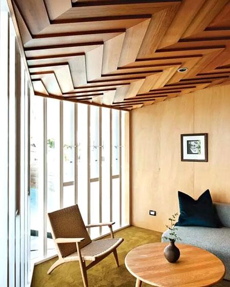 木质天花吊顶装修效果图