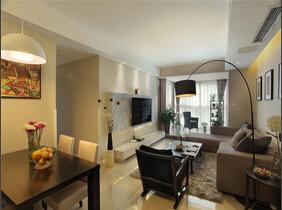 简单的幸福 现代简约风格三居室装修