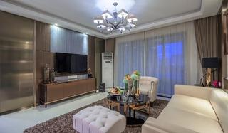 温馨简欧风情客厅整体设计