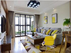 雅致灰成就舒适 北欧风格两室两厅装修