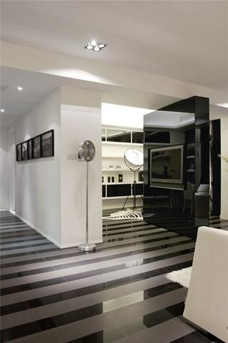 简约风格公寓装修客厅地板装修