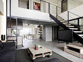 自然北欧工业风格 loft公寓个性时尚