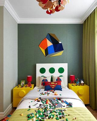 简约风格联排别墅儿童房效果图