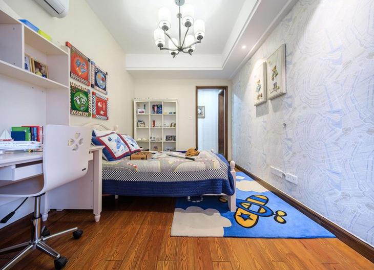 简约风格三室两厅装修儿童房设计装修