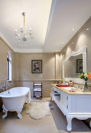 欧式风格装修欧式卫生间设计
