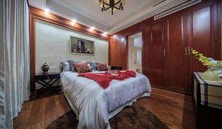 简欧风格三居室装修卧室衣柜设计图