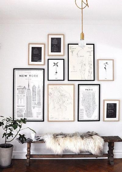 墙壁装饰画装修装饰效果图