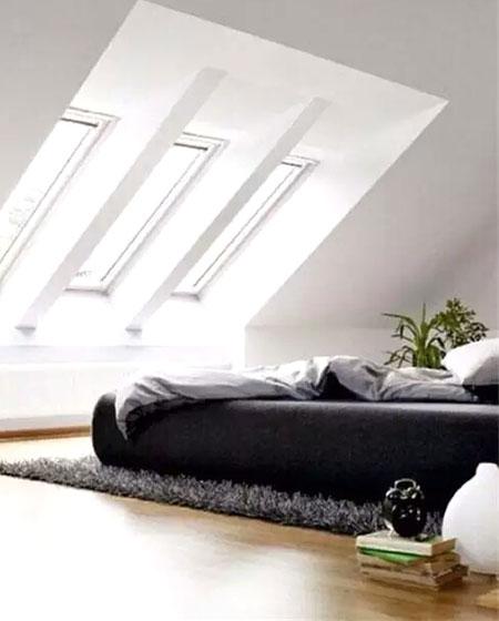 阁楼卧室床垫效果图装修