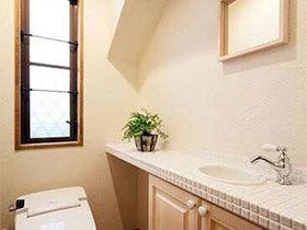 朴素之美  10个日式卫生间实景图