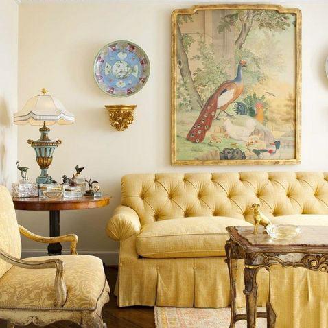 新古典客厅装修效果图片