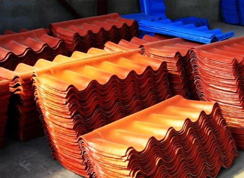 彩色水泥瓦施工流程彩色水泥瓦适用范围