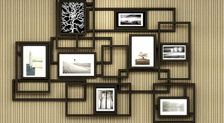 照片墙怎么挂 显得主人更有品味
