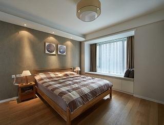 浪漫宜家新中式卧室效果图