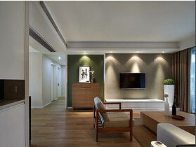 好看又舒适的新家 130平三室两厅装修