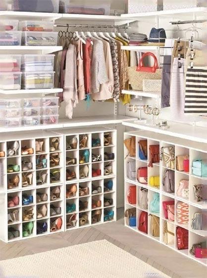衣柜收纳设计图片大全