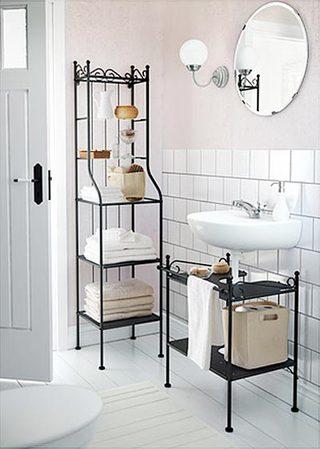 浴室柜布置装修装饰效果图