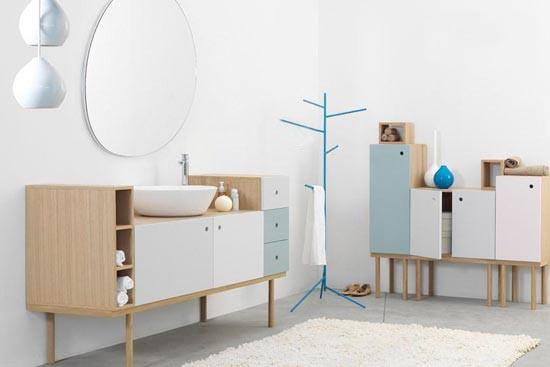 浴室柜布置摆放图片