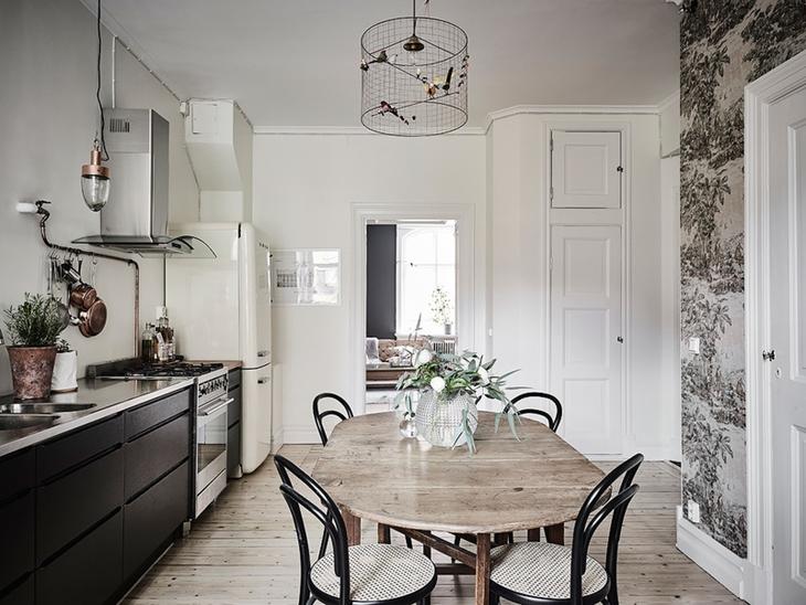 环保与极简风融合 打造最个性的三居室装修简洁餐厅