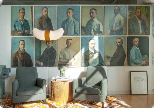 客厅背景墙装修参考图片