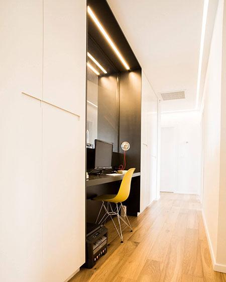 146平度假公寓壁橱书房设计