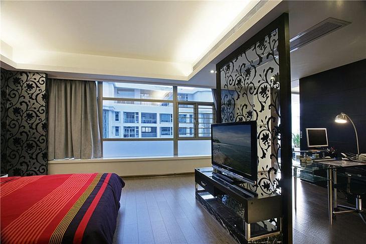 简约风格三居室装修 宜居&时尚的效果卧室设计