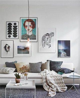 室内装饰画设计实景图片