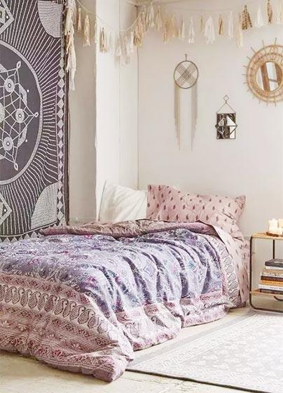 波西米亚风格卧室图片
