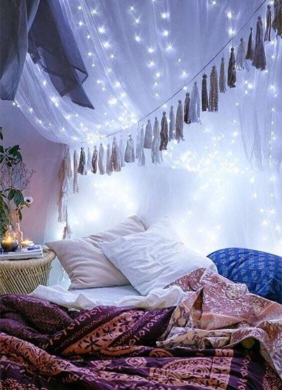 波西米亚风格卧室装修图片