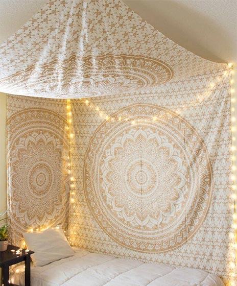 波西米亚风格卧室装修效果图