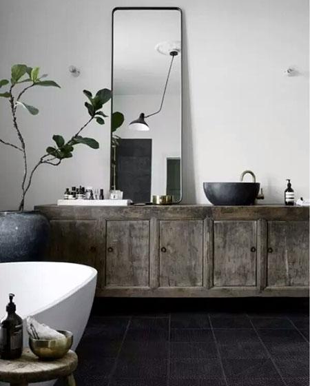 中式风格卫生间浴室柜图片