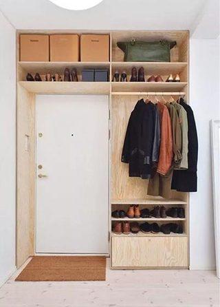 卧室衣柜收纳装修装饰效果图
