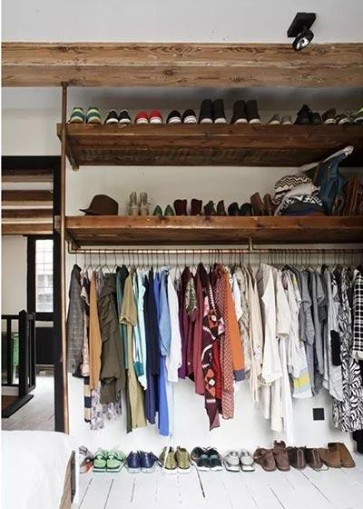 卧室衣柜收纳设计实景图