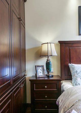 138㎡美式三居室次卧室图