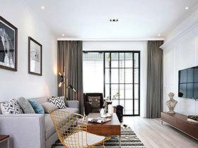 125平北欧风格三居室装修 温情溢满家