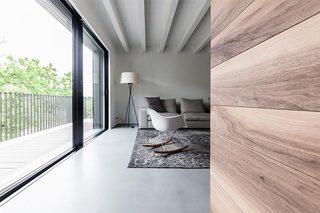 100㎡现代风格公寓走廊效果图