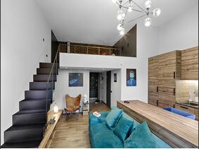 超时尚的LOFT装修 温馨的小户型空间