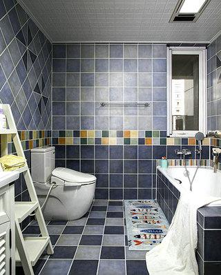 美式风格三居浴室效果图设计