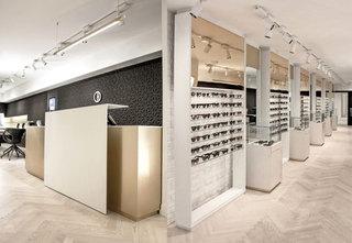 大型眼镜店装饰设计图
