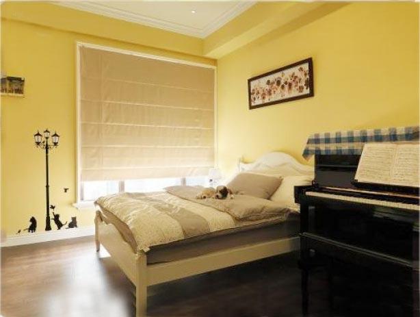色彩卧室装修装饰图片
